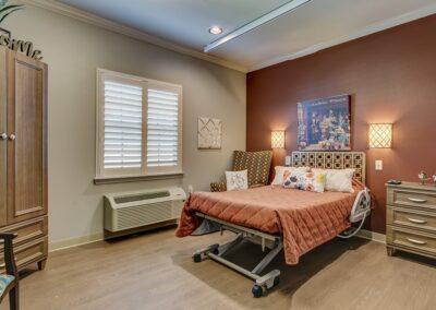 Little Rock Nursing Home, Short and Long Term Care PG Bedroom 01