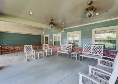Little Rock Nursing Home, Short and Long Term Care PG Porch 01