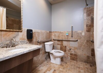 Little Rock Nursing Home, Short and Long Term Care pg interior bathroom 01