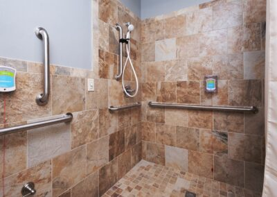 Little Rock Nursing Home, Short and Long Term Care pg interior bathroom 02