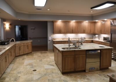 Little Rock Nursing Home, Short and Long Term Care pg interior kitchen 01