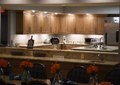 Little Rock Nursing Home, Short and Long Term Care pg interior kitchen 02