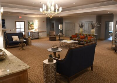 Little Rock Nursing Home, Short and Long Term Care pg interior living area 01