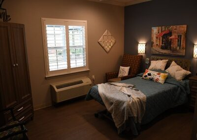 Little Rock Nursing Home, Short and Long Term Care poplar grove kitchen bedroom 1