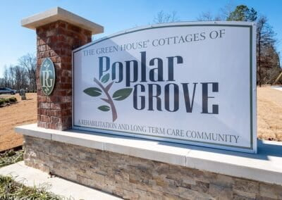 Welcome to The Green House Cottages of Poplar Grove in Little Rock, Arkansas